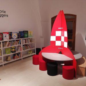 Arredi per biblioteca comunale di Sannicandro di Bari (BA)